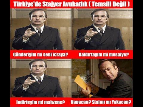 Stajyer Avukatın Günlüğü 1 - (instagram : hictihat )