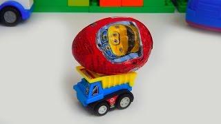 Мультики про машинки українською Кіндер Сюрприз Чагінтон Місто машинок125серія Мультфільми для дітей