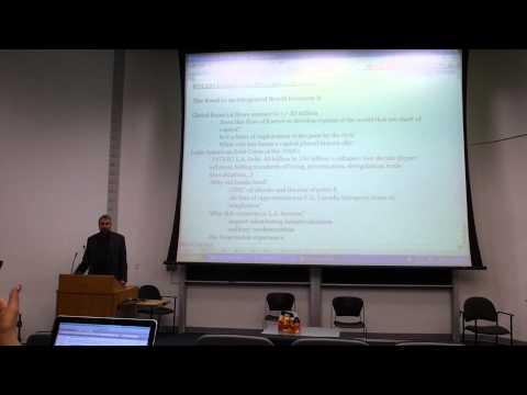 POL208Y1 lecture #16: International Political Economy, cont.: Finance (part 1)