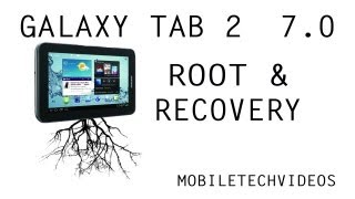 Galaxy Tab 2 7.0 How to Root & Recovery