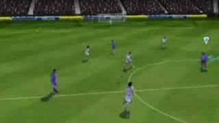 FIFA 09 Wii Game Play