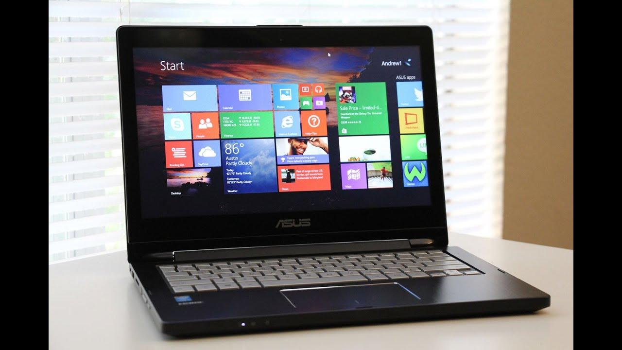 ASUS Q302LA 133 2 in 1 Laptop Review  YouTube