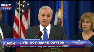 FNN: Minnesota Governor On Philando Castile Incident