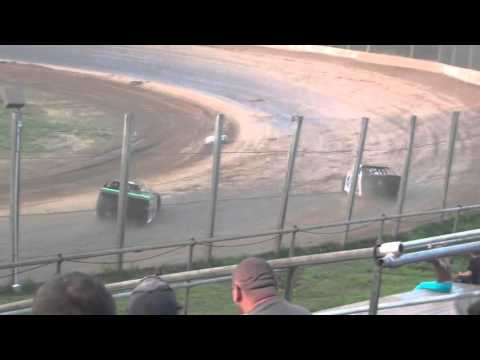 Eagle Valley Speedway Jesse Glenz Feature Win 6/21/2015