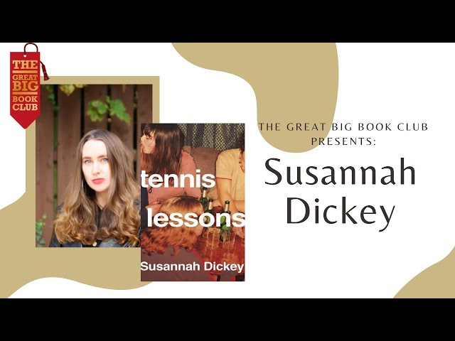 Book-Cast: Tennis Lessons by Susannah Dickey