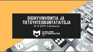 Sanna Tuominen: Medialukutaitopiirit senioreille