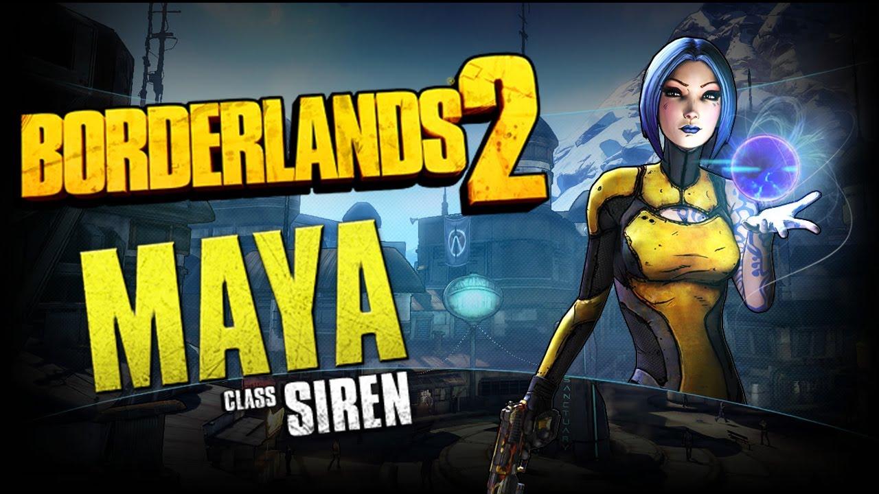 Borderlands 2 Class Spotlight - Siren