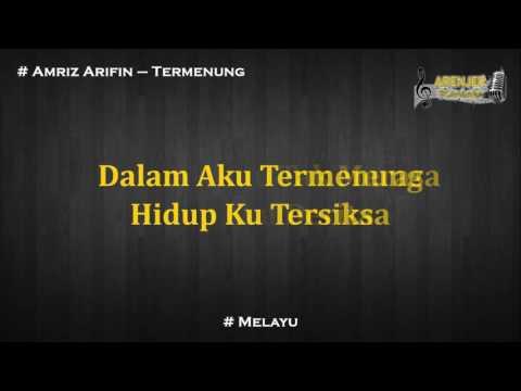 Amriz Arifin - Termenung Karaoke