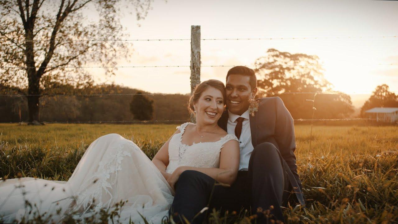 Zara and Aaron // Romantic Wedding Film at Maleny