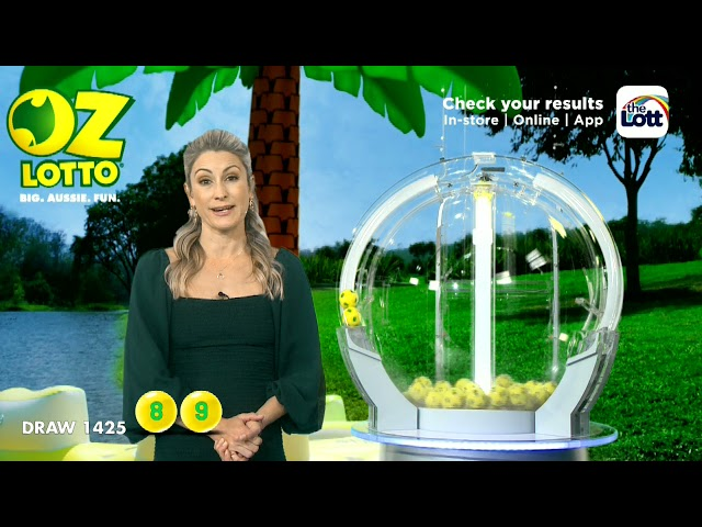 Oz Lotto Results Draw 1425   Tuesday, 8 June 2021   The Lott