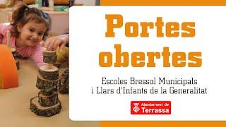 Portes Obertes Curs 2021-22 - Llar D'Infants Oreneta