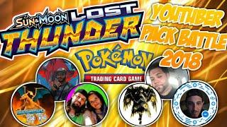 ⚡Lost Thunder Elite Trainer Box⚡ 2018 YouTuber Pack Battle!