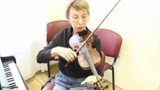 Скрипка уроки на лето