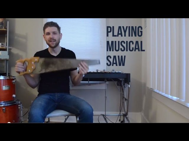 Musical Saw 101 Presented By Sound Of Seattle Youtube