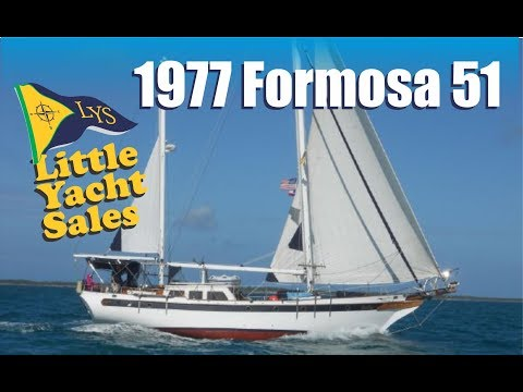 1977 Formosa 51 Sailboat for sale at Little Yacht Sales