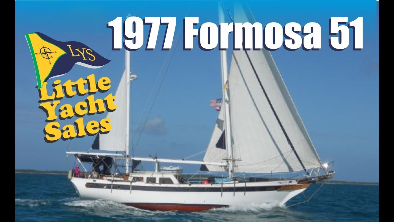 1977 Formosa 51 Sailboat For Sale At Little Yacht Sales Kemah Texas