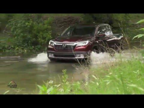 2017 Honda Ridgeline Off-Road Test Drive Rancho Rio Cibolo, Texas