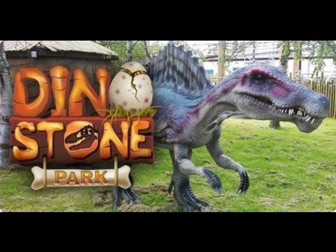 439cfae3da Flamingo Land Dino World Park 2015 visit - YouTube