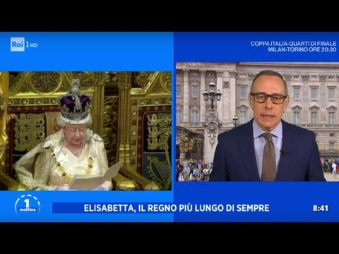 Elisabetta, la regina dei record - Unomattina 28/01/2020