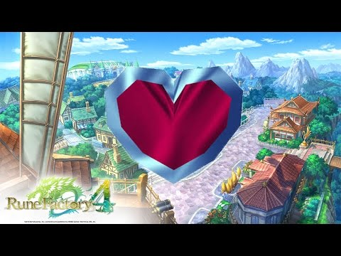 Rune Factory 4: Love Potion Reactions
