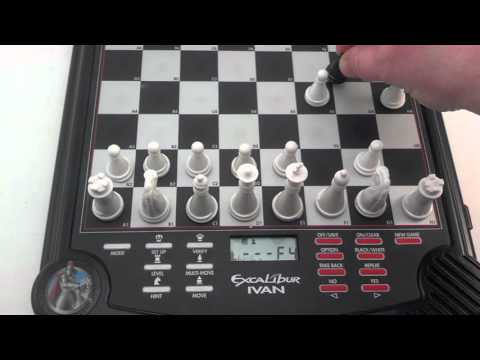Excalibur Ivan the Terrible Electronic Talking Chess Game With Coaching and Sound Effects