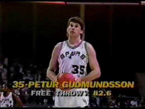 Petur Gudmundsson (8pts/8rebs/5asts/4blks) vs. Celtics (1988)