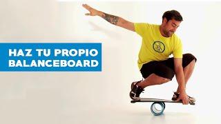 ¿Cómo hacer un balanceboard?