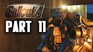 Fallout 4 Walkthrough Part 11 -  BROTHERHOOD OF STEEL (PC Gameplay 60FPS)