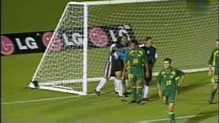 Weltrekord Fussballergebnis bei Länderspiel 2001