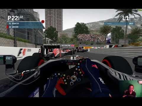 F1 2013 végigijátszás #6 monaco