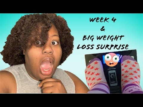 Morbidly Obese Weight Loss Vlog | WK 4 | Weigh-In Suprise