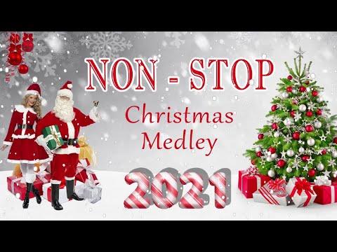 Best Nonstop Christmas Songs Medley 2021 🎅 🌲Top Christmas Songs Playlist 2021