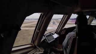 Approach Into Memphis International Airport