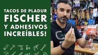 Tacos de pladur FISCHER y adhesivos increíbles!!⚡️⚡️⚡️ 2019
