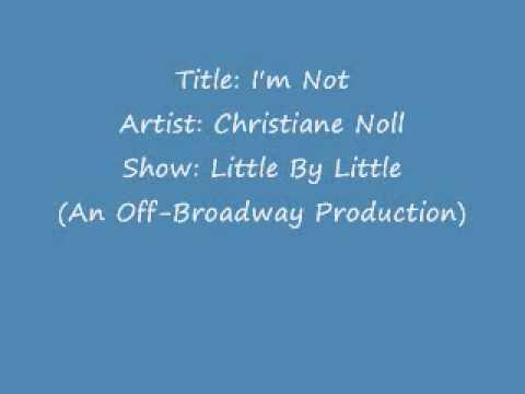 Christiane Noll - I'm Not