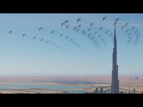 BOMBING DUBAI - DCS World 2.5 [4K Gameplay]