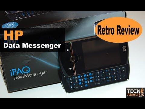 HP iPaq Data Messenger, anunciado en 2008 | Historia Telefonía Móvil