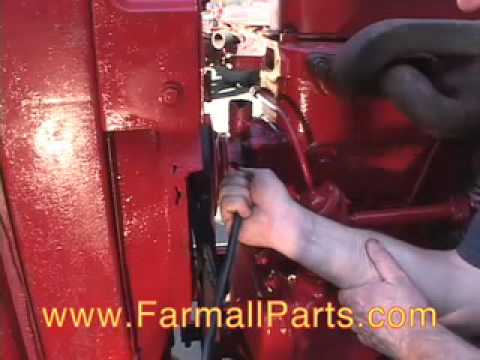 Waterpump Changeout for Farmall M Tractor - YouTube