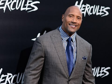 The Rock Brings Star Power to Premiere