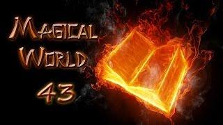 minecraft - Magical World #43 - Создание сердец охраны для големов