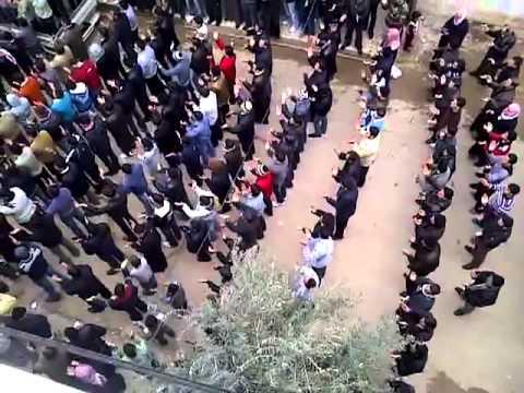 شام حماه خطاب   جمعة الزحف الى ساحات الحرية ج3 30 12 2011