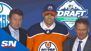 Edmonton Oilers Select Philip Broberg Eighth Overall In The 2019 NHL Draft