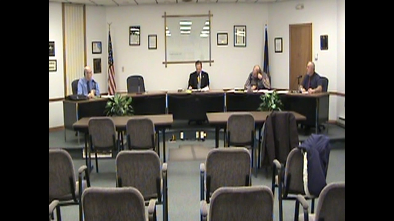 Rouses Point Village Board Meeting  1-17-17