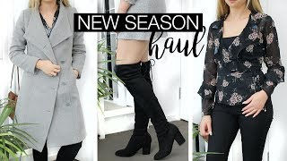 New Wardrobe Additions - New Season Clothing Haul