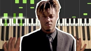 Juice WRLD - Robbery (Piano Tutorial Lesson)