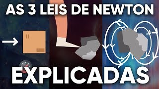 As 3 Leis de Newton EXPLICADAS