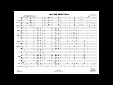 The Bare Necessities by Terry Gilkyson/arr. John Wasson