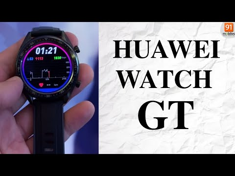 Huawei Watch GT: First Look | Hands On | Price | [Hindi हिन्दी]