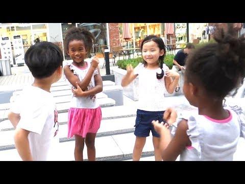 Korean Kids React to Black Korean Kids for the first time (ft. Pape San) 2019 South Korea Vlog #6