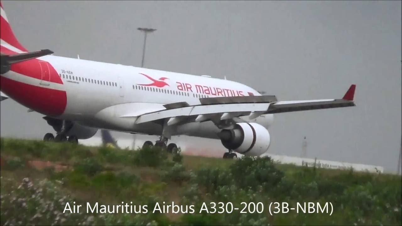 Plane Spotting At Bangalore International Airport Youtube